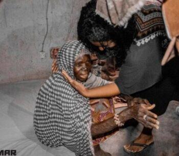 Viúvas dormem em colchões pela primeira vez, após doação de missionários na África